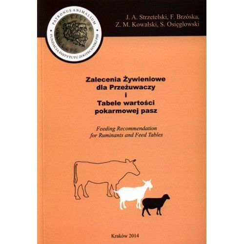 Zalecenia żywieniowe dla koni i tabele wartości pokarmowej pasz